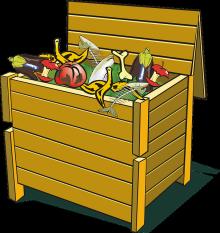 kompost, kompostér, bioodpad