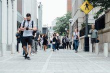 pěší chůze, pěšky, čistá mobilita